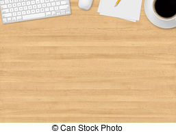 Table top view clipart.
