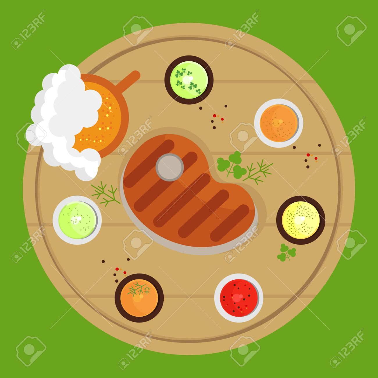 457 Grill Top Stock Vector Illustration And Royalty Free Grill Top.