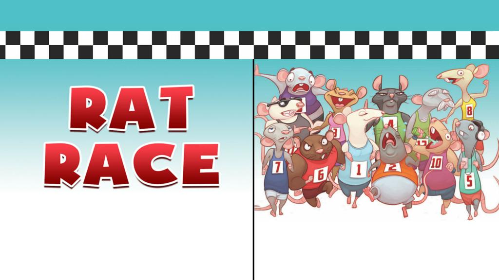 Rat Race Card Game Up On Kickstarter.