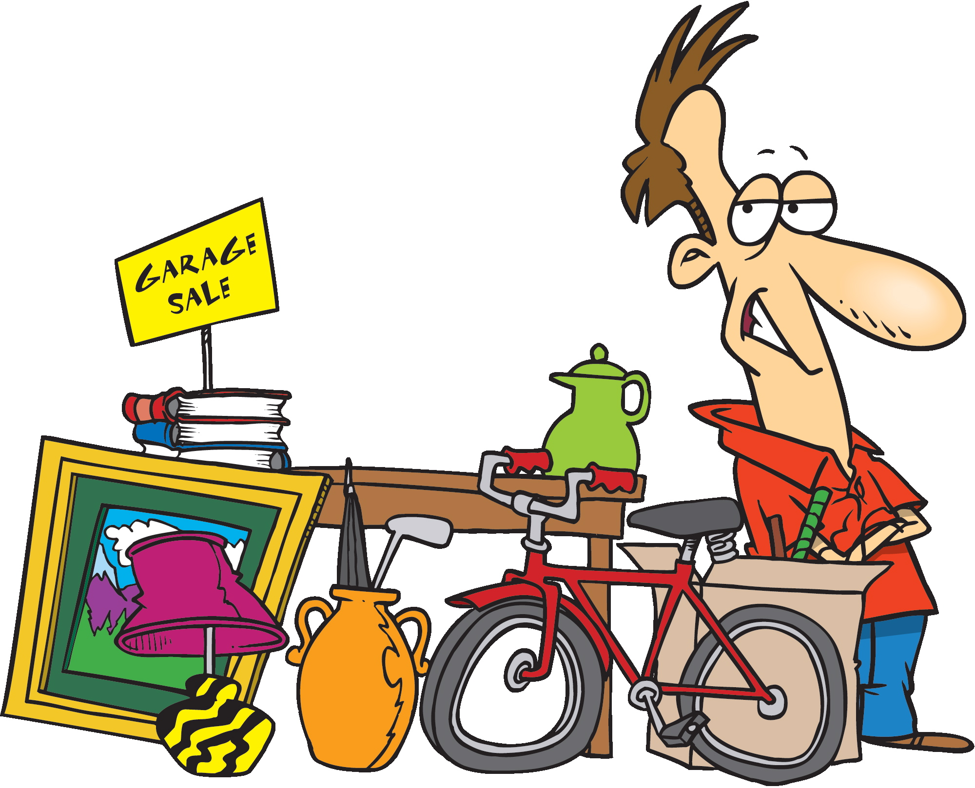 Table top sale clipart 9 » Clipart Station.