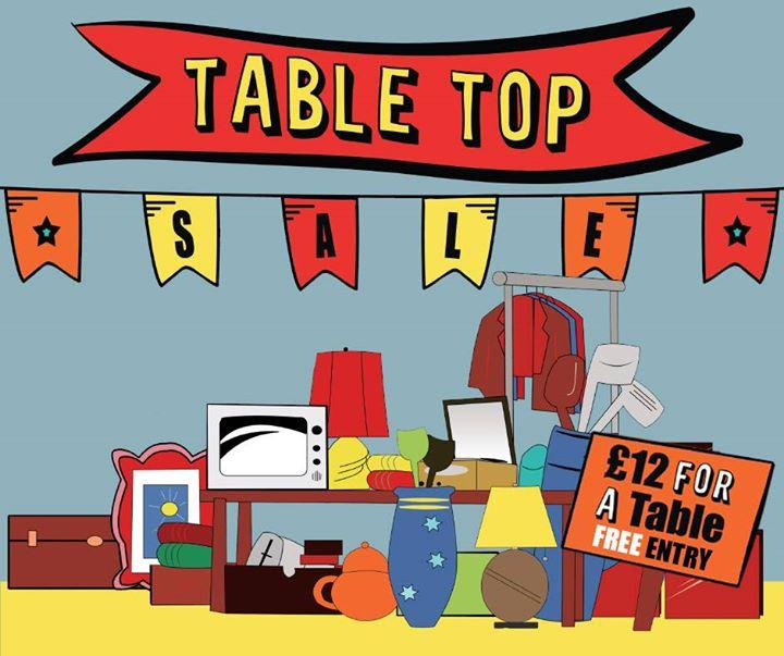 Ramsbottom Table Top Sale.