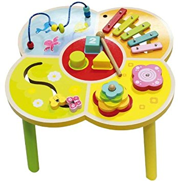 Wooden Activity Table For Children: Amazon.co.uk: Toys & Games.