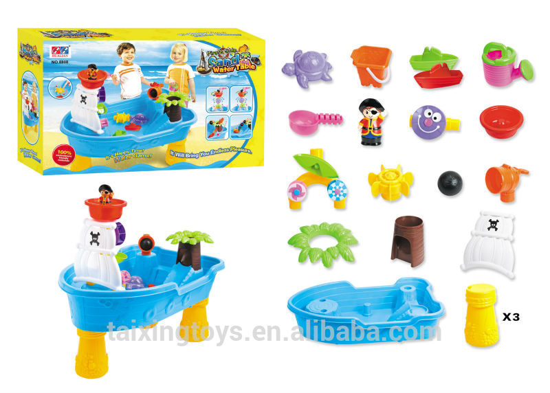 Summer toy for children Corsair Boat Sand Water Tool Sets Play.
