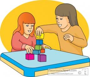 Sensory Area Preschool Clipart.