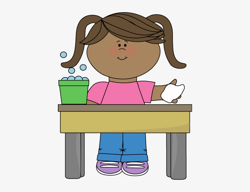 Classroom Table Washer Clip Art.