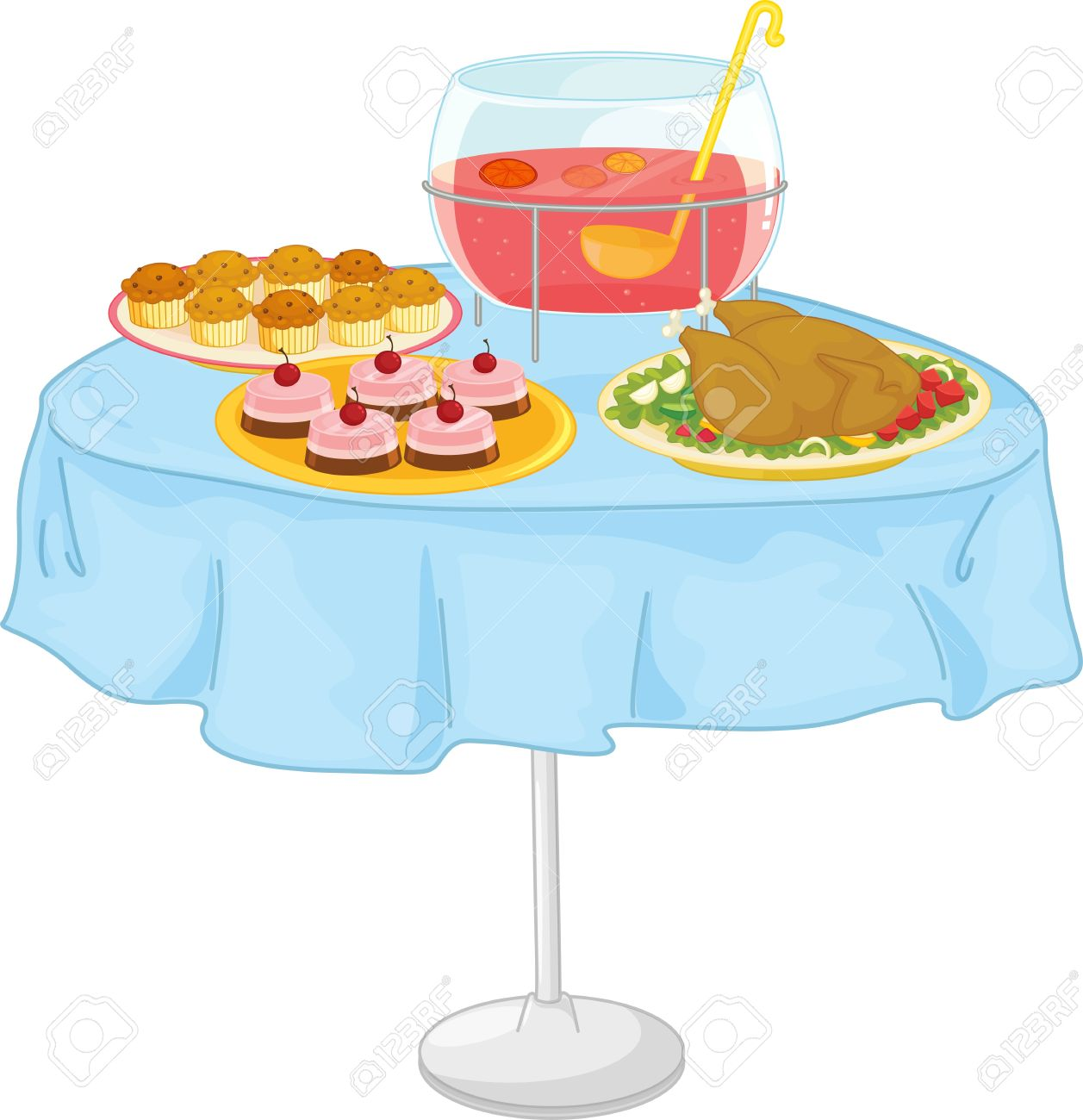 Illustration Of A Food On White Royalty Free Cliparts, Vectors.