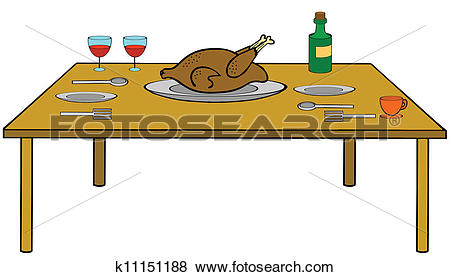 Clip Art of Table.