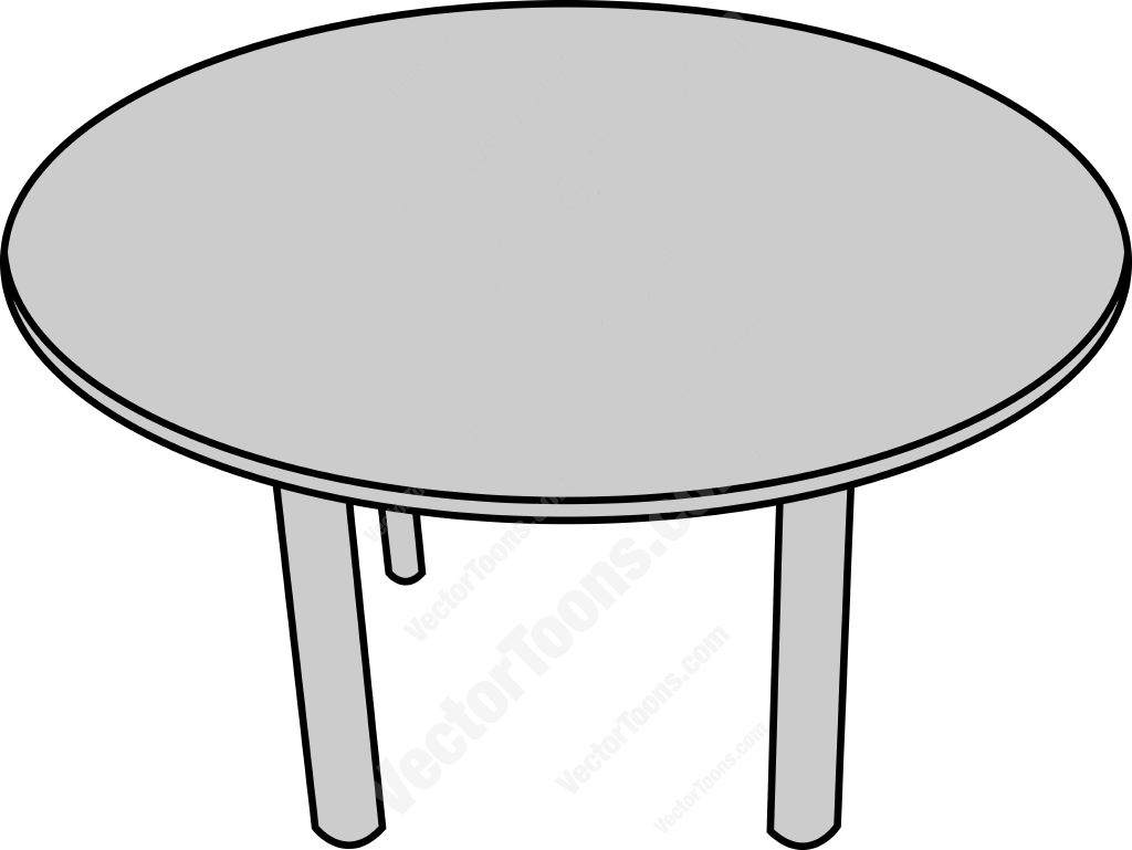 Top Table clipart collection.