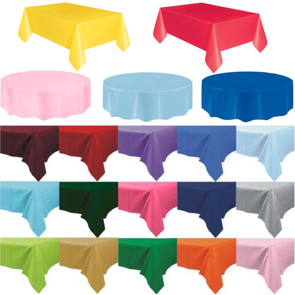 Online Get Cheap Wedding Plastic Tablecloths.