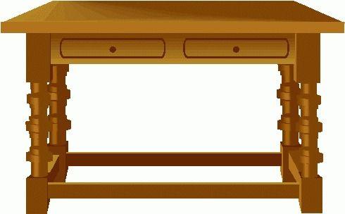 Clip art tables.