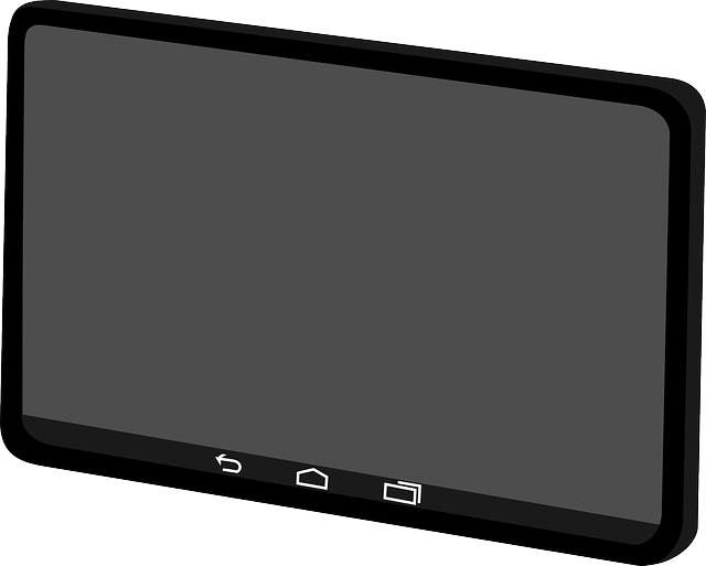 Android Tablet Clipart.