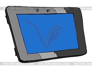Tablet Clip Art.