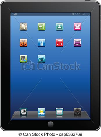 Tablet Stock Illustrations. 141,519 Tablet clip art images and.