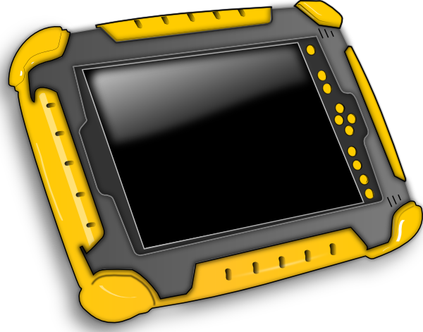Tablet Computer Clipart.