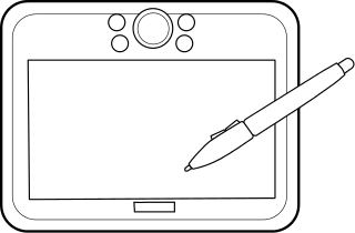 Clipart tablet computer.