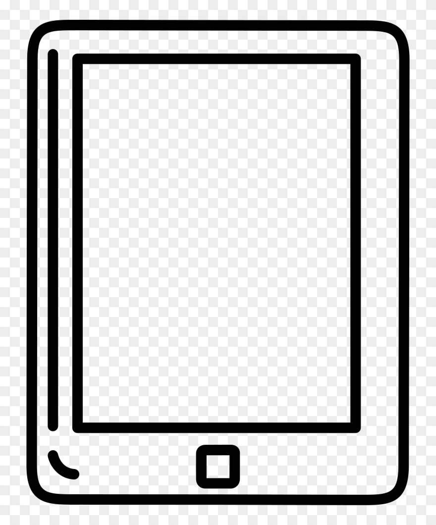 Image Free Stock Tablet Outline Svg Png Icon Free Download.