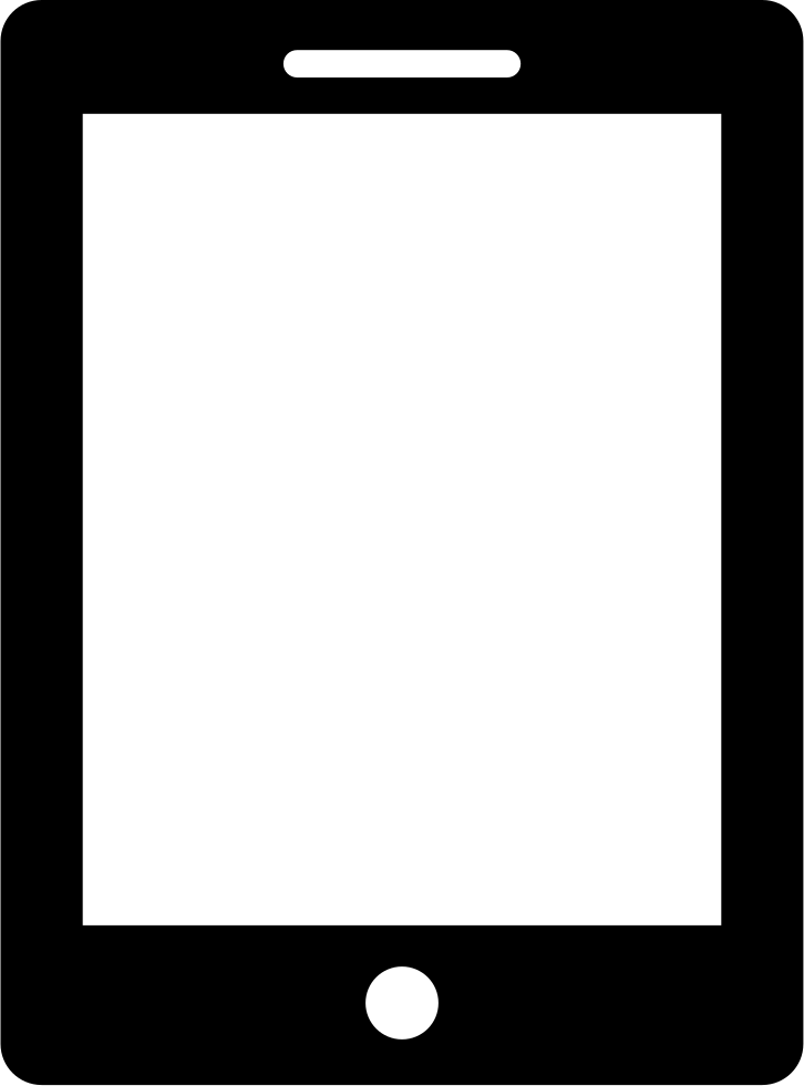 Tablet Svg Png Icon Free Download (#429240).