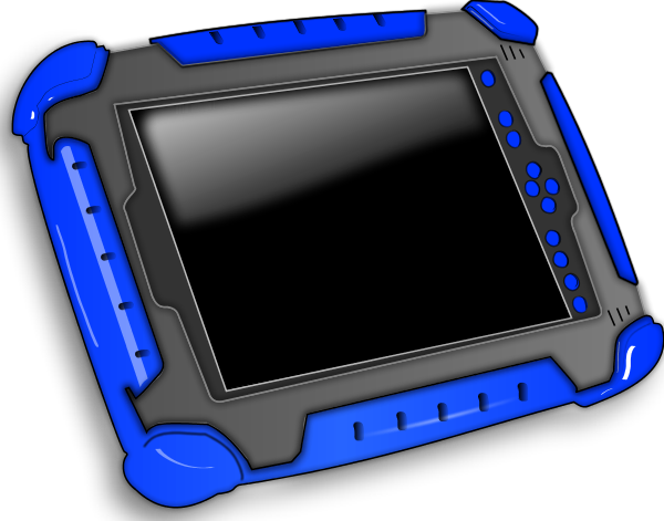 Tablet pc clipart - Clipground