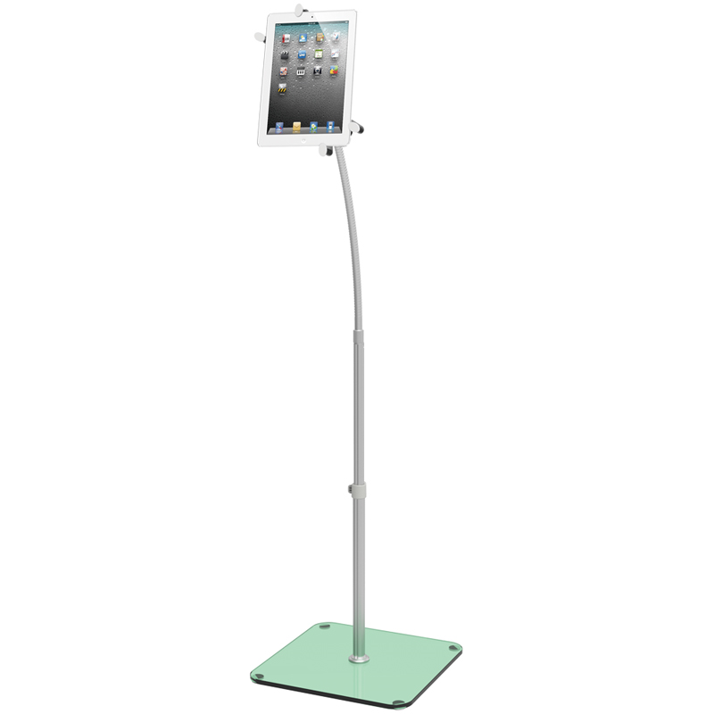 Universal iPad /Tablet Mount Floor Stand For iPad mini/1/2/3/4/Air  (P/N:11172).