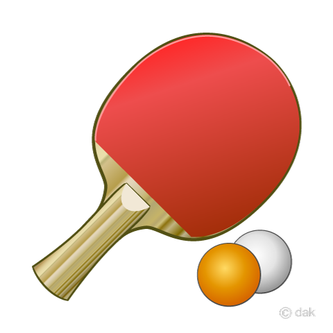 Free Table tennis racket image|Free Cartoon & Clipart & Graphics [ii].