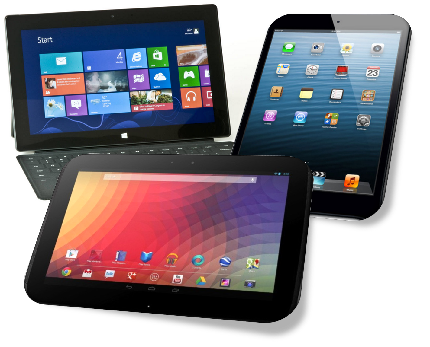 Tablets and Smart Phones png #6804.