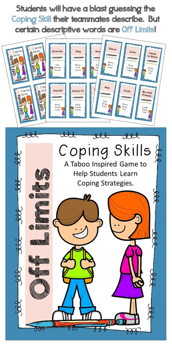 OFF LIMITS~ Coping Skills Taboo Game.