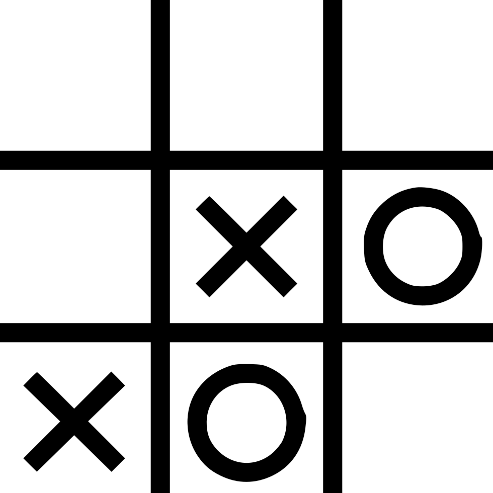 Entertainment Fun Tictactoe Tic Tac Toe Svg Png Icon Free.