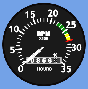 Tachometer Clip Art at Clker.com.