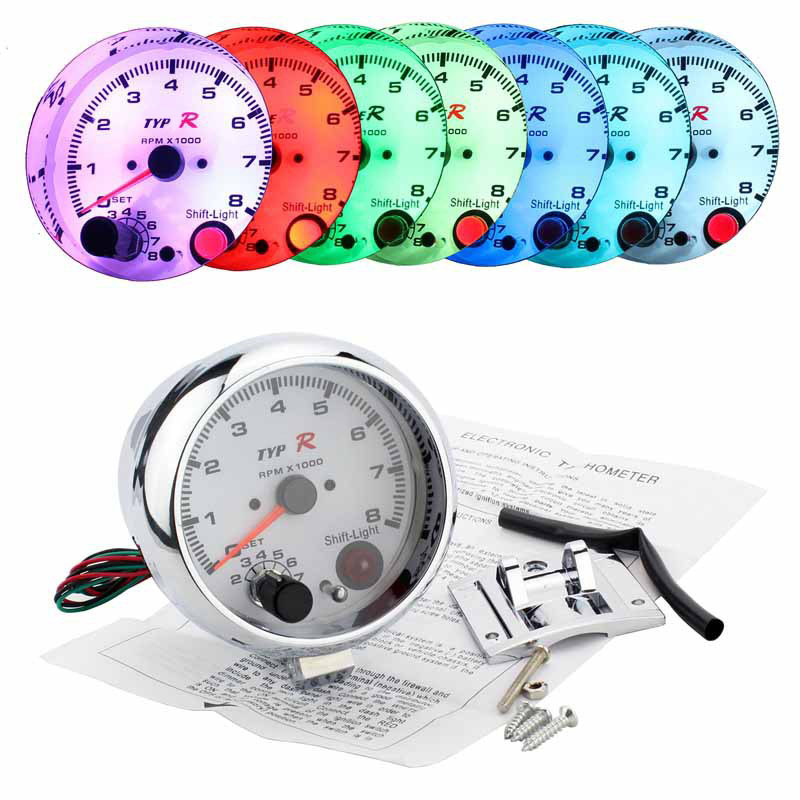 Online Get Cheap Rpm Tachometer Gauge.