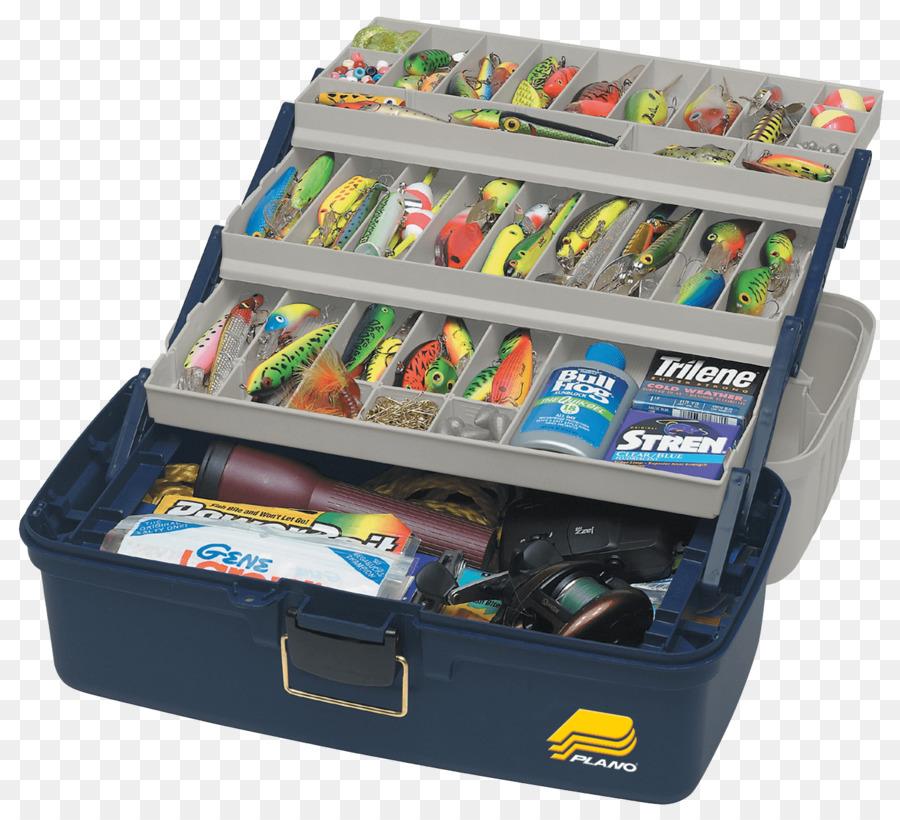 Fishing Tackle Box png download.