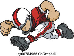 Youth Football Clip Art.