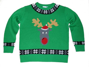 Free Tacky Christmas Sweater Clipart.