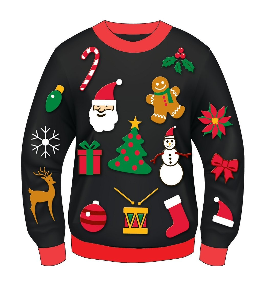 Ugly Sweater Clipart.