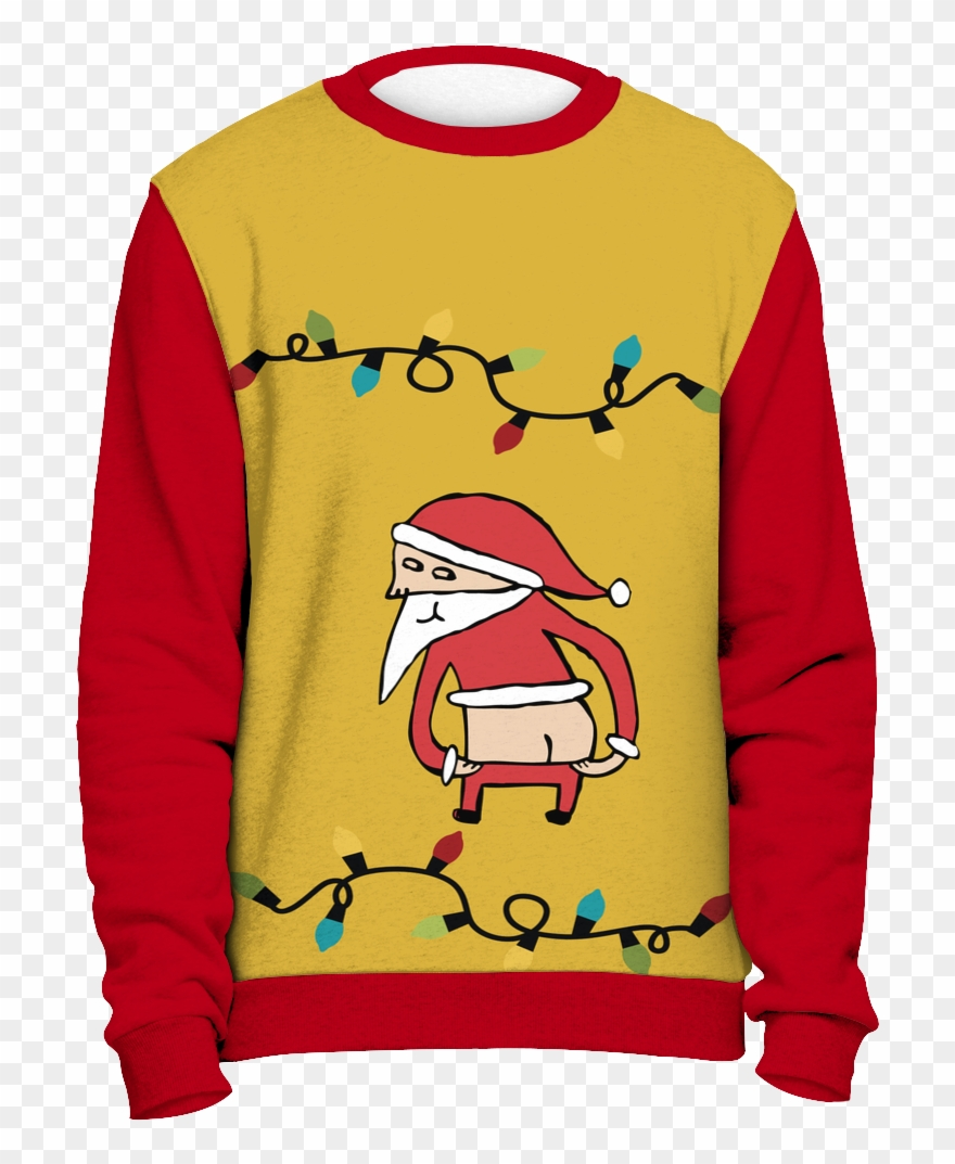 On Sale Bad Santa Ugly Christmas Sweater.