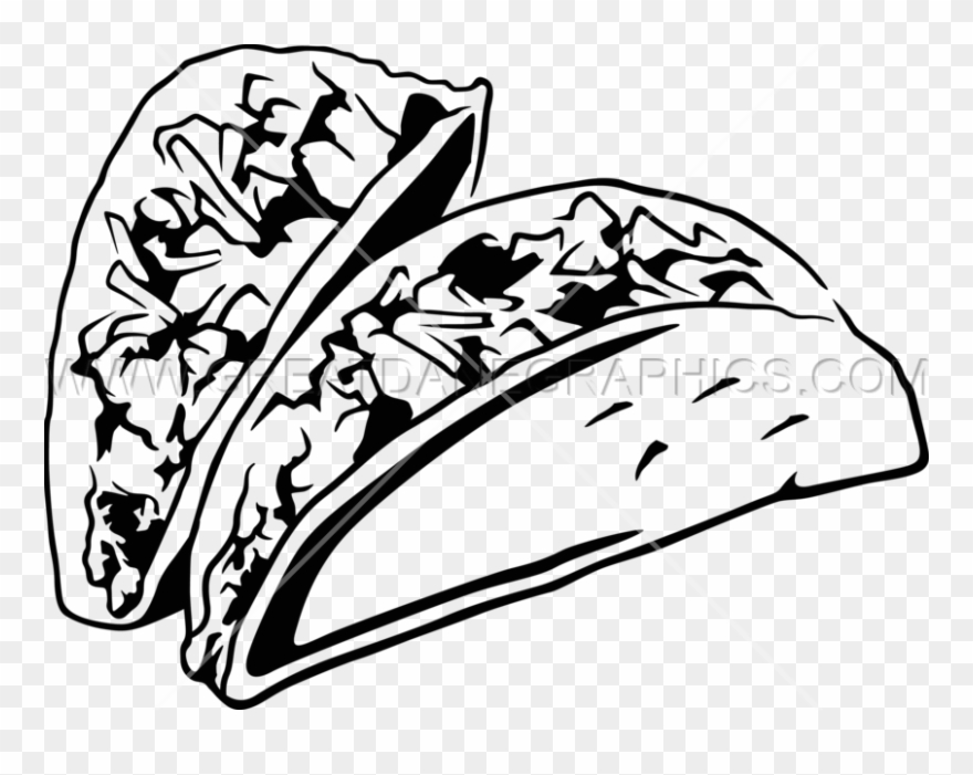 Black And White Taco.