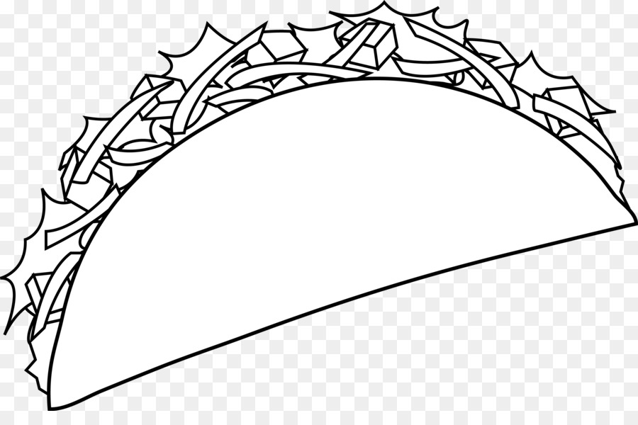Taco Cartoon clipart.
