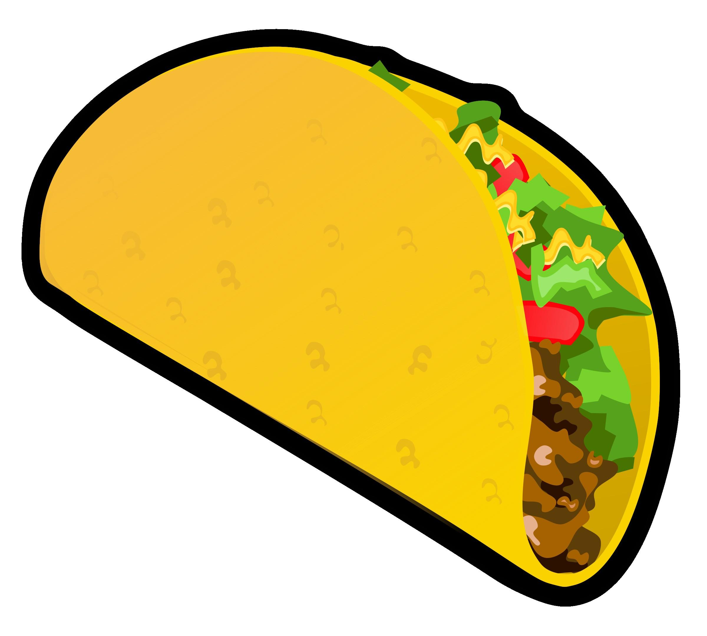 HD Soft Taco Clipart Design » Free Vector Art, Images.
