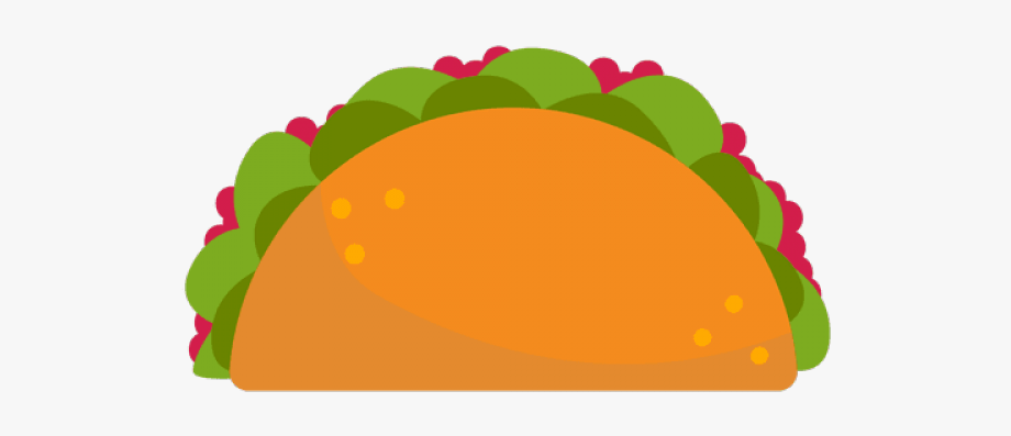 Fish Taco Clipart Transparent Background.