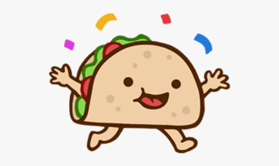 Clipart Happy Taco.