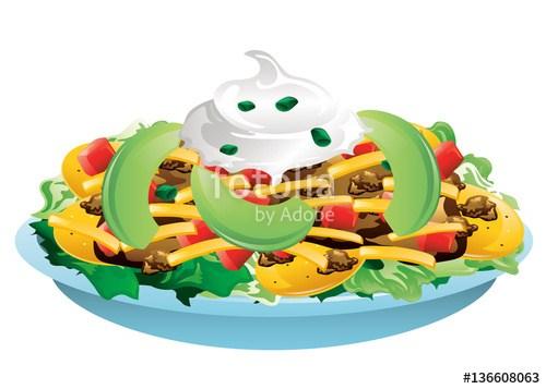 Taco salad clipart 4 » Clipart Portal.