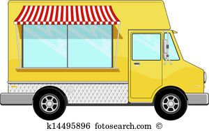 Image result for food truck clipart.