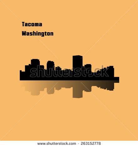 Tacoma Washington Stock Photos, Royalty.