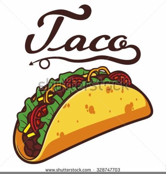Soft Taco Clipart.
