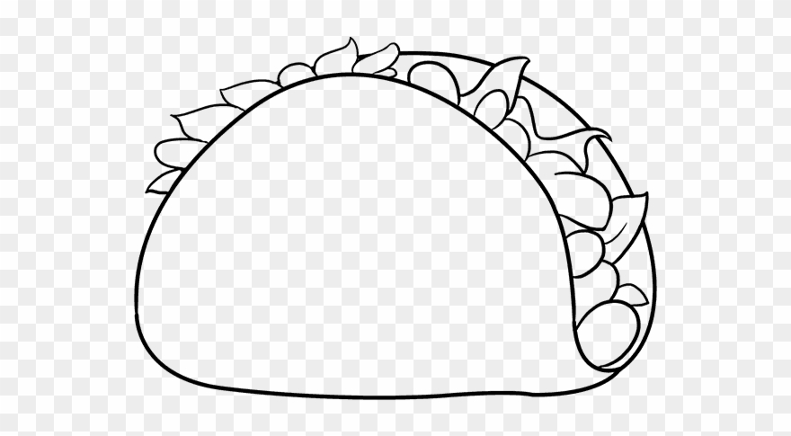 How To Draw Funny Taco.