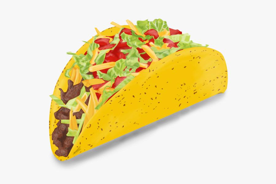 Transparent Taco Emoji Png.