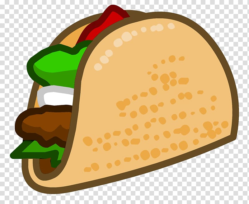 Club Penguin Taco Mexican cuisine Food , others transparent.