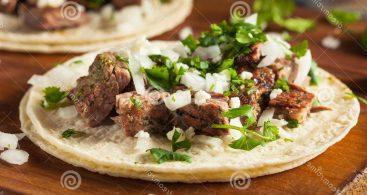 Mexican Tacos De Asada Vector Archives.