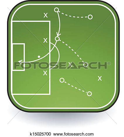 Clipart of tactics board k15025700.