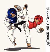 Taekwondo Clip Art.