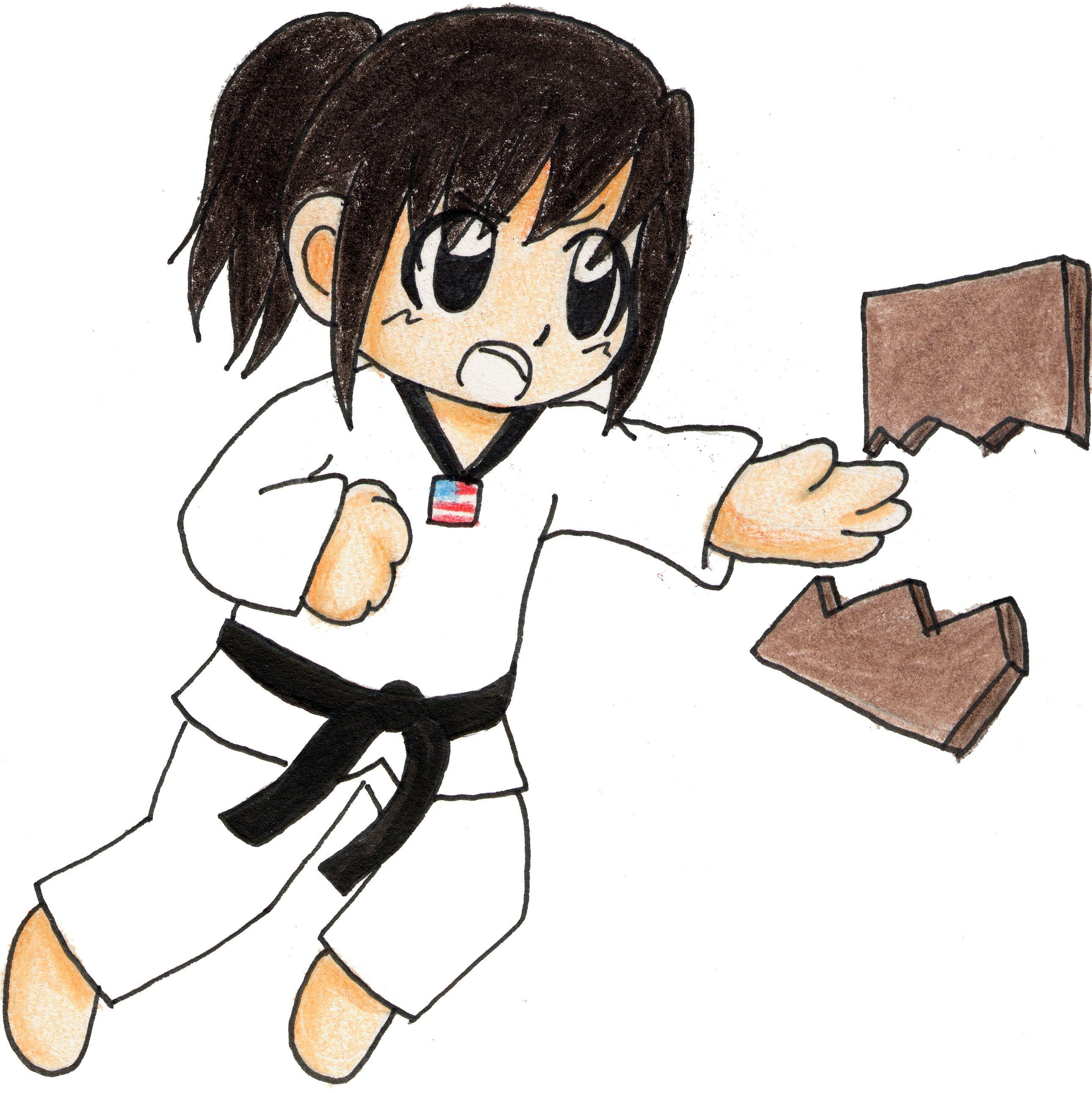 taekwondo clip art free.